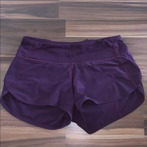 "Lululemon Speed Up Short *2.5"" Size 2"